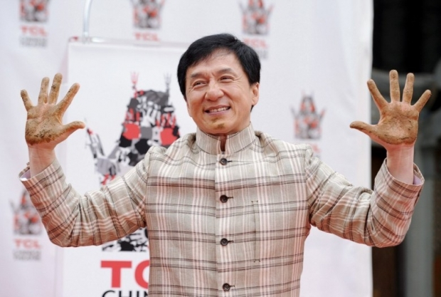 Jackie Chan's Hand and Footprint Ceremony 1