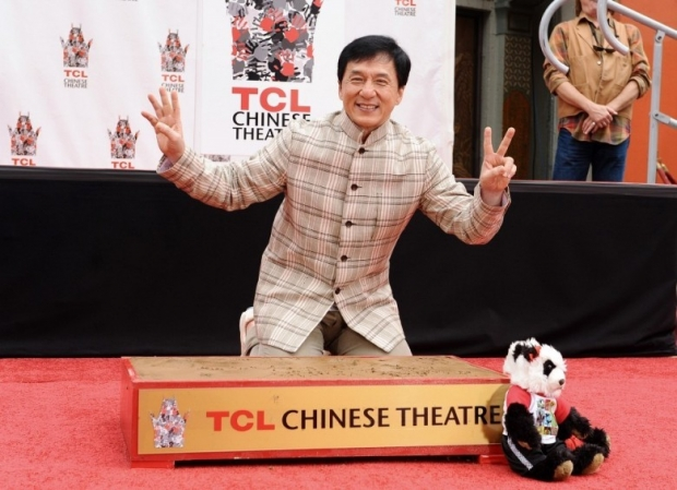 Jackie Chan's Hand and Footprint Ceremony