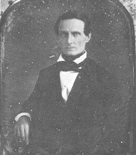 Jefferson Davis from the Mexican War Era