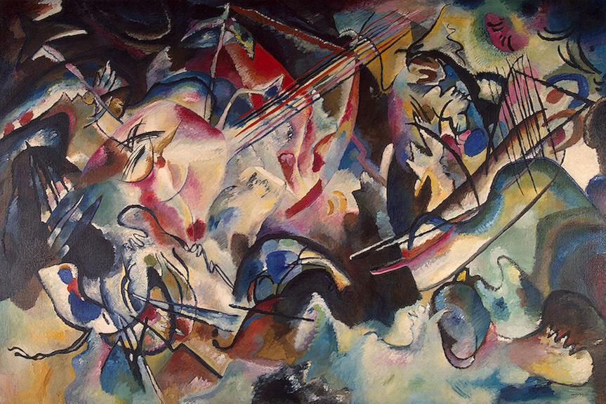 Kandinsky - Composition VI 1913