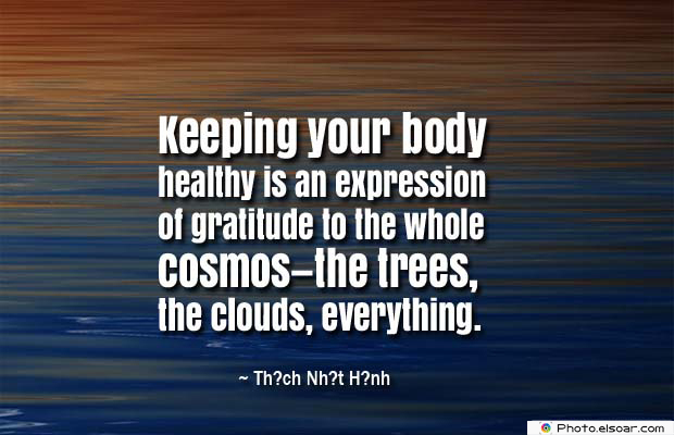 Body Quotes , Quotes About Body , Keeping your body healthy