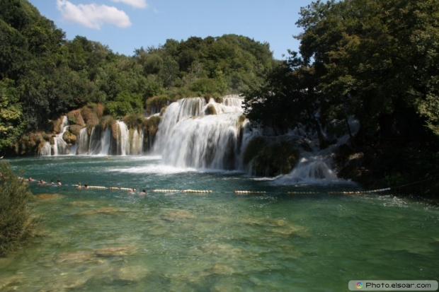 Krka National Park Falls