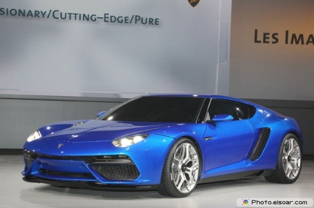 Lamborghini Asterion Concept Front Three Quarter - Image