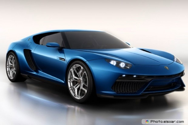 Lamborghini Asterion Concept Front Three Quarter - Photo