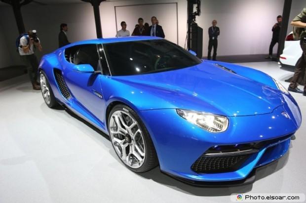 Lamborghini Asterion Concept Front Three Quarter - Pic