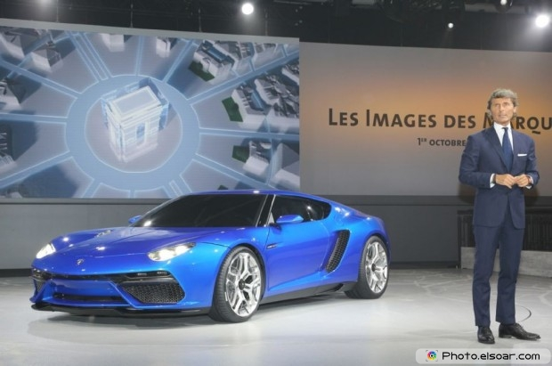 Lamborghini Asterion Concept Front Three Quarter - Picture