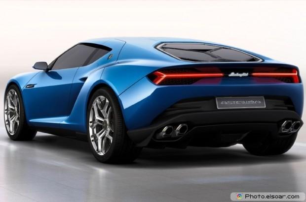 Lamborghini Asterion Concept Rear Three Quarter