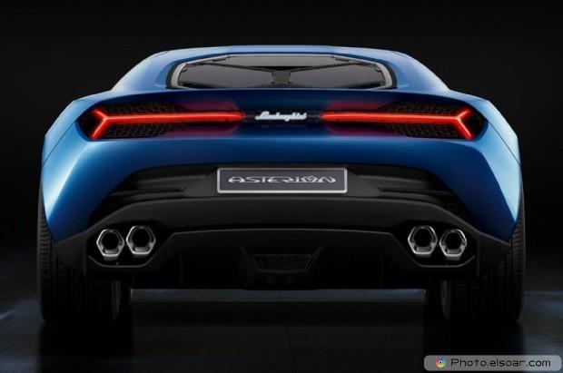Lamborghini Asterion Concept Rear View