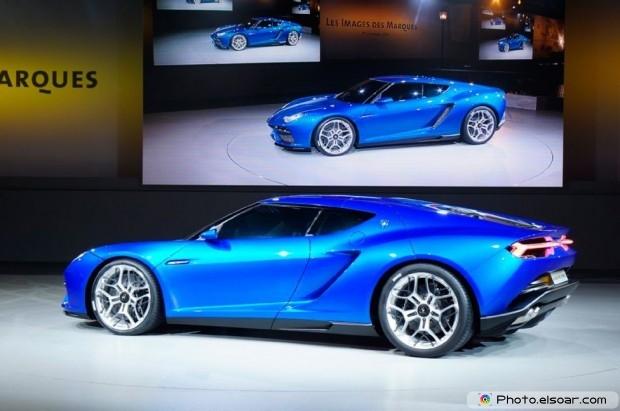 Lamborghini Asterion Concept Side Profile