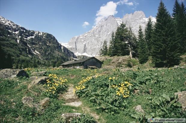 Lauterbrunnen Valley. Switzerland