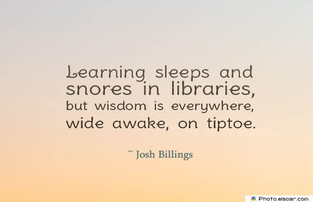 Quotes About Chakras , Learning sleeps and snores