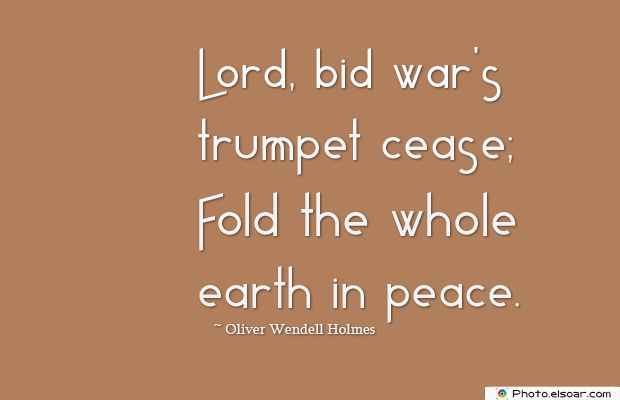 Armed Forces Day , Lord, bid war's trumpet cease