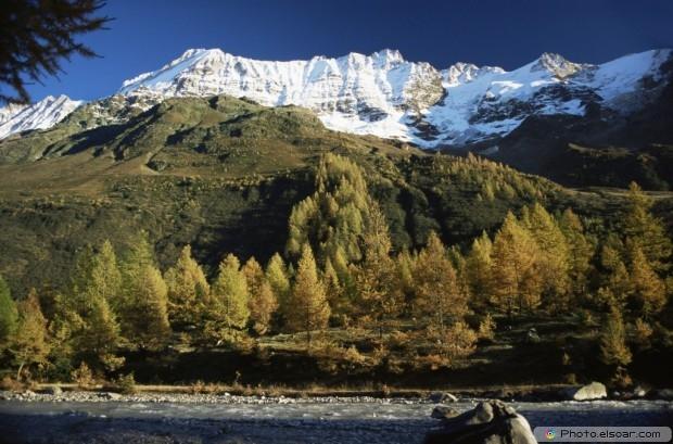 Lotschen Valley Photo