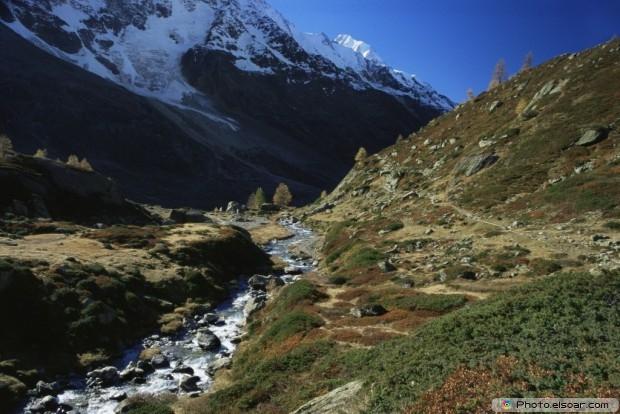 Lotschen Valley Picture