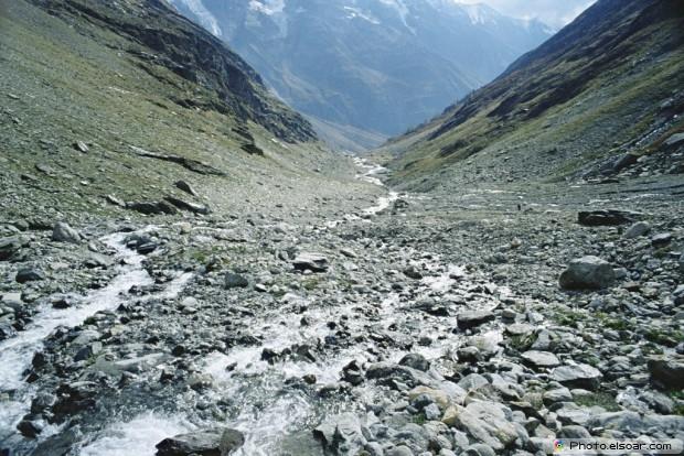 Lotschen Valley. Switzerland
