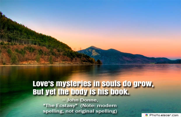 Quotes About Chakras , Love's mysteries in souls