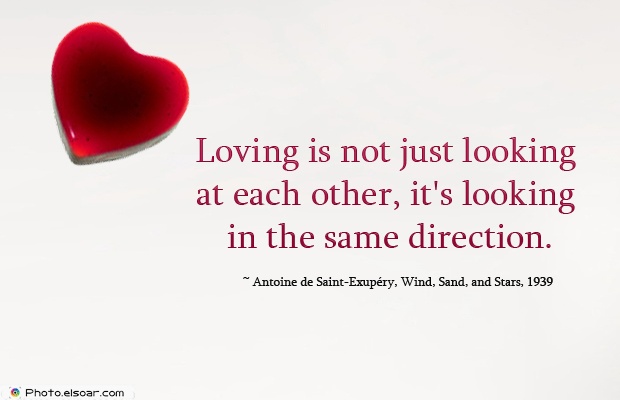 Loving is not just looking