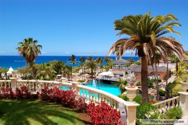 Luxury hotel, Tenerife island, Spain
