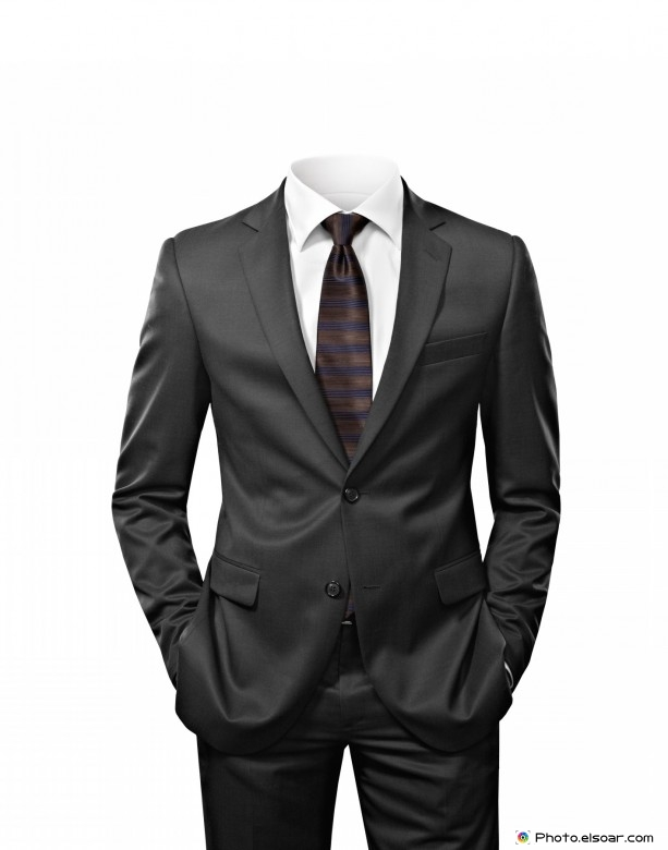 Man suit without head