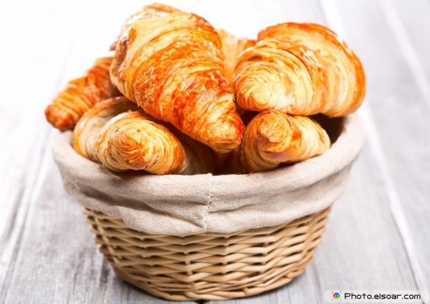 Many Croissants On Basket