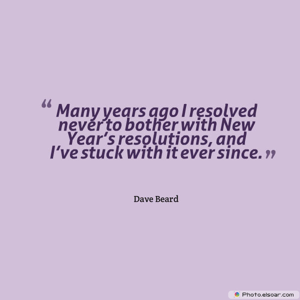 New Year's Quotes , New Year's resolutions