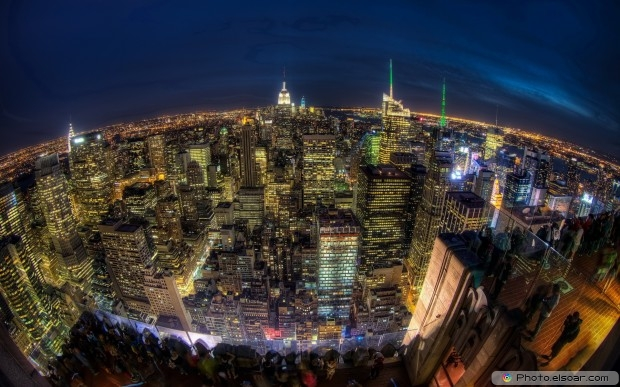 Masterpiece Cityscapes At Night HD Wallpaper