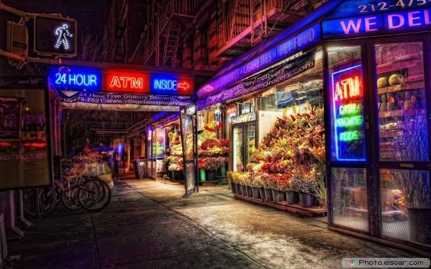 Masterwork Cityscapes At Night HD Wallpaper