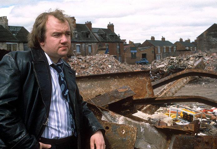 Mel Smith In 'Muck & Brass' - 1982