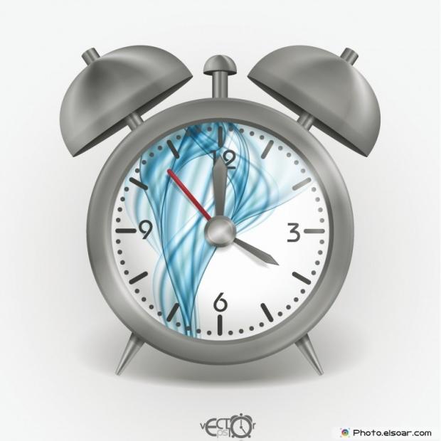 Metal Classic Alarm Clock