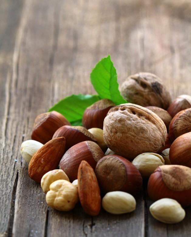 Mix nuts - walnuts, hazelnuts, almonds