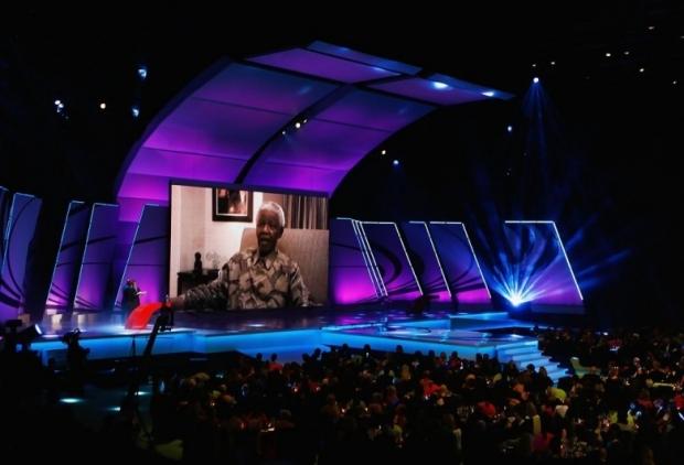 Nelson Mandela 2007 Laureus World Sports Awards