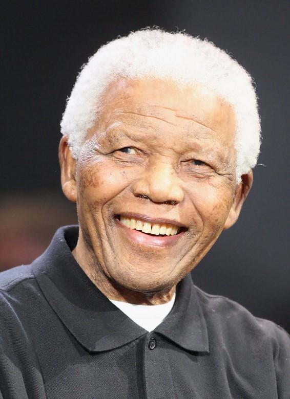 Nelson Mandela 2008