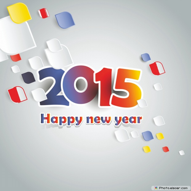 New Year Card 2015 Free Download