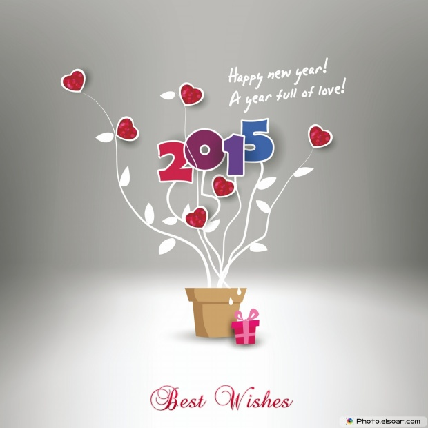 New Year Wishes Card 2015 Free Download