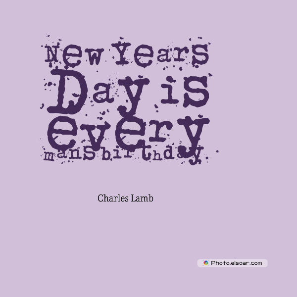 New Year's Quotes , New Year's Day