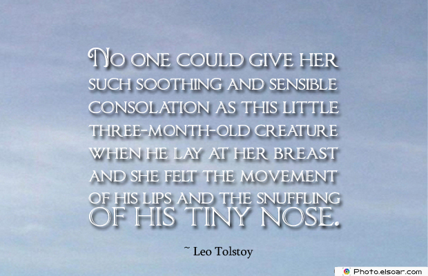 Breastfeeding Quotes , No one could give her such soothing