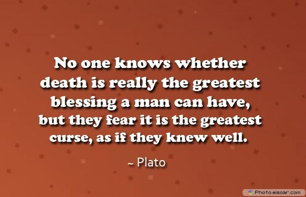 Plato, Death Quotes, Death Sayings, Quotes Images, Quotes About Death
