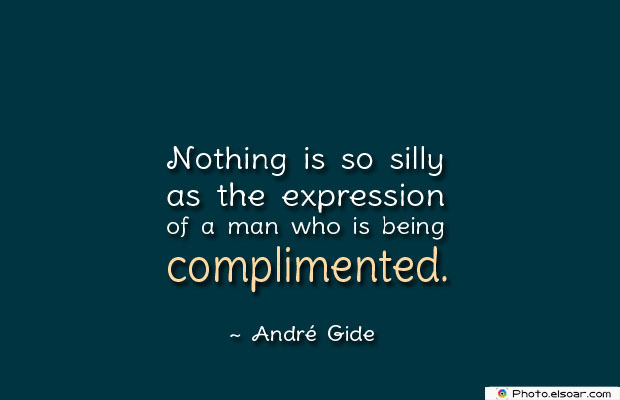 Nothing is so silly as the expression