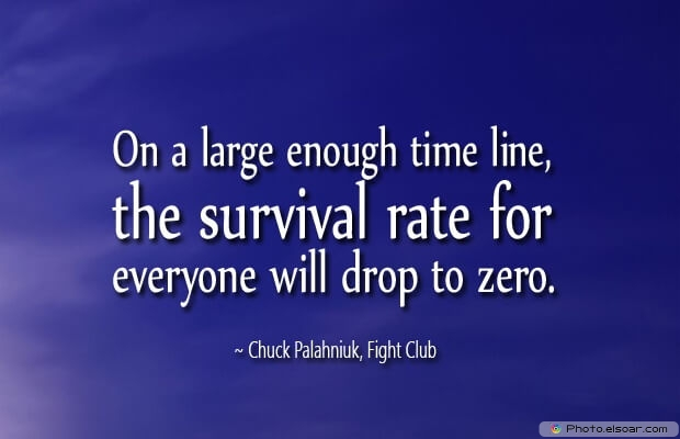 Chuck Palahniuk, Death Quotes, Death Sayings, Quotes Images, Quotes About Death