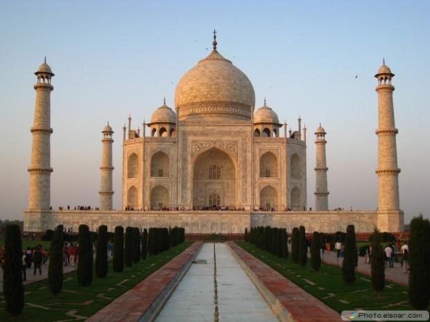 Other Angle Of Taj Mahal