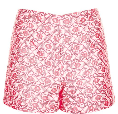 Pink printed