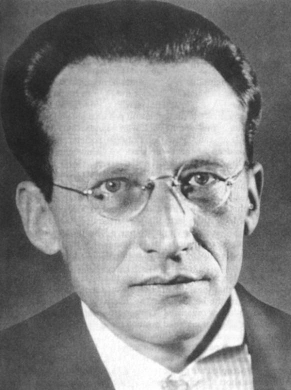 Portrait of Erwin Schrödinger 1927