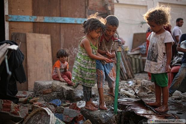 Poverty, Children, Water