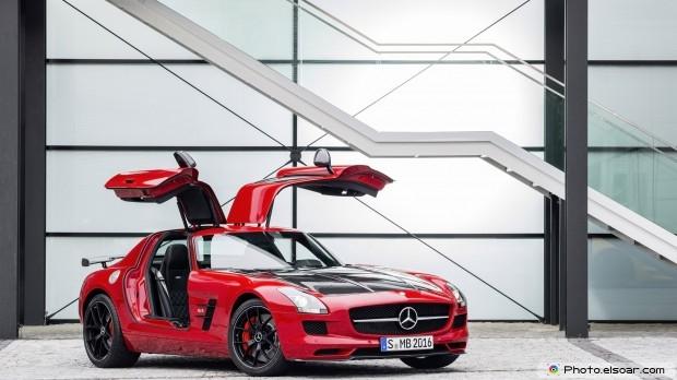 Red Car Full HD Wallpaper