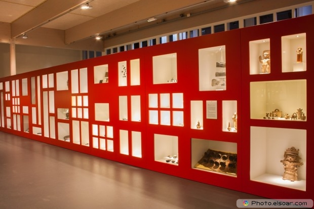 Red Museum With Relics