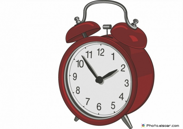 Red nice Alarm clock