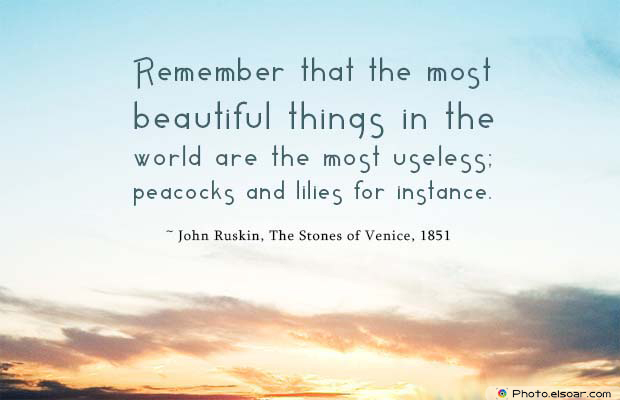 Beauty Quotes , Remember that the most beautiful things