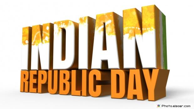 Republic Day Of India 3D Desktop WallPaper