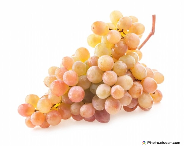 Ripe Grape With Water Drops