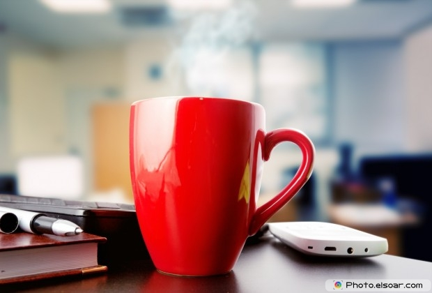 Romantic Red Coffee Mug